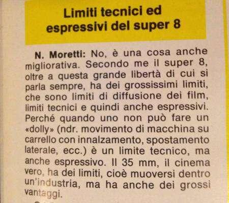 Intervista a Moretti