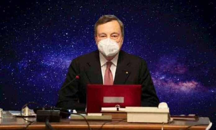 A man in the dark: lo stile Draghi