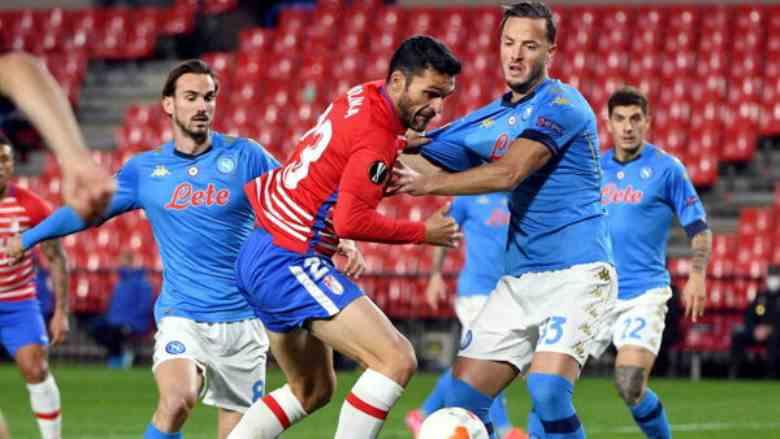 Addio Europa League, Napoli-Granada 2-1, non basta: il Pagellone