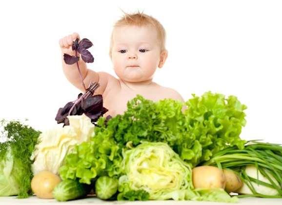 Alimentazione vegan per bambini