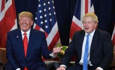 Donald Trump & Boris Johnson