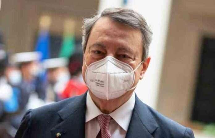 Mario Draghi a Fiumicino: 'Stretta necessaria, ma sostegno a famiglie'