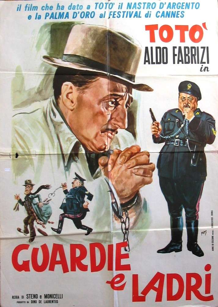 Commedia all'italiana. Guardie e Ladri (1951) di Mario Monicelli e Steno