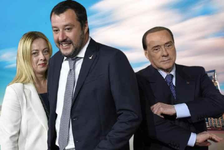 Governo Draghi Berlusconi si, Meloni no, Salvini nì