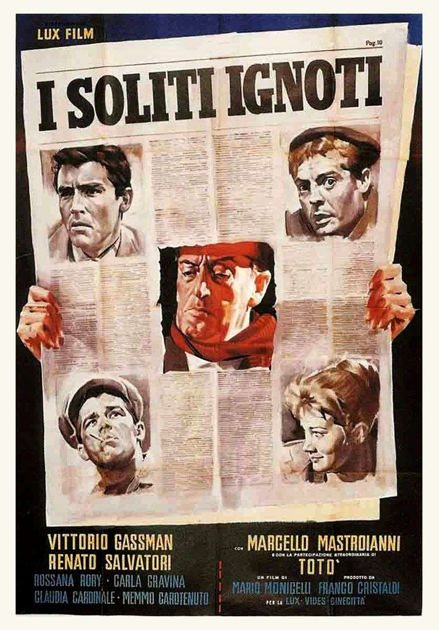 Commedia all'italiana. I soliti ignoti (1958) di Mario Monicelli