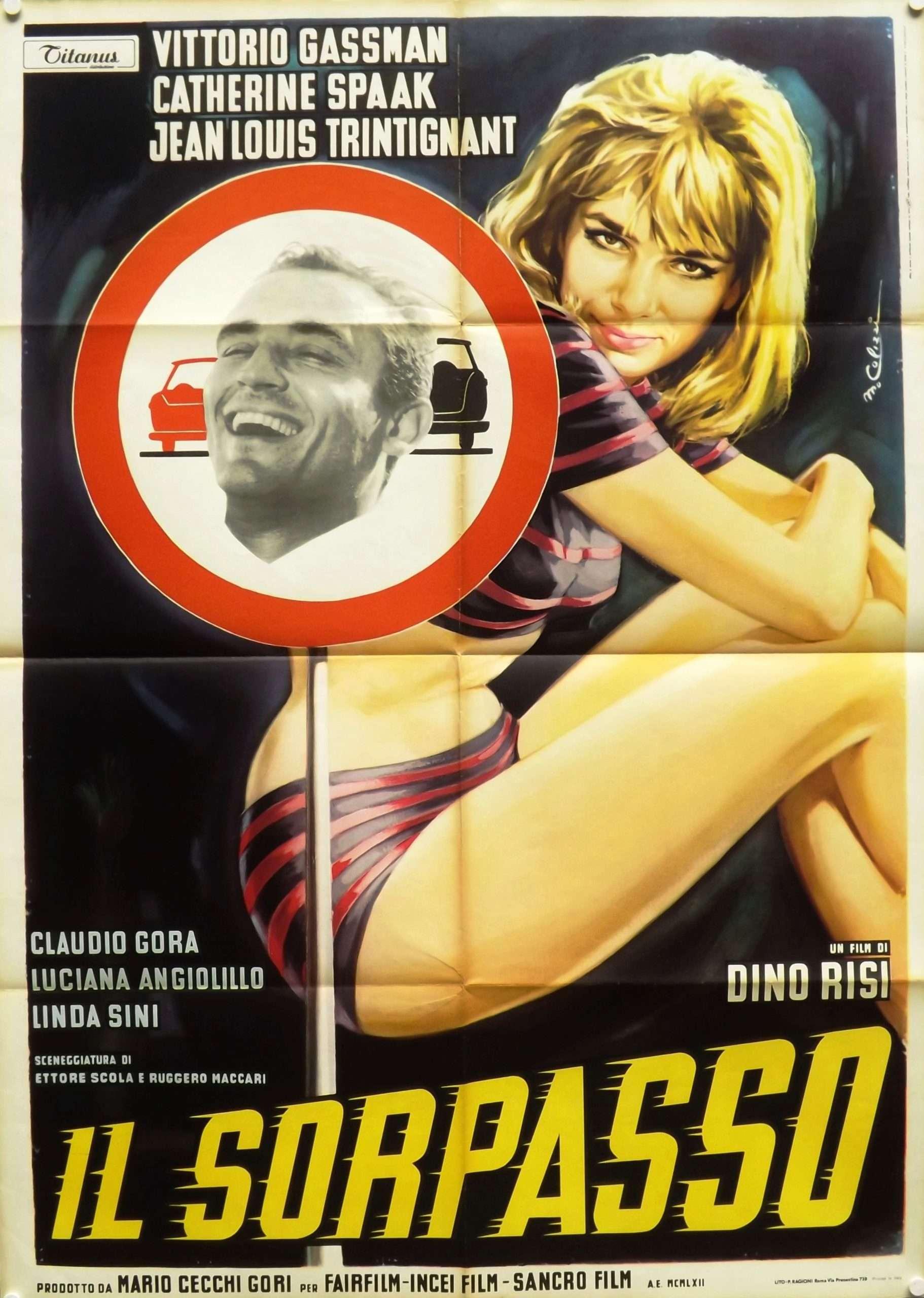 Commedia all'italiana. Il sorpasso (1962) di Dino Risi