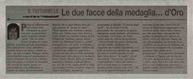 "In memoria di Gigi Imperatrice de ""I Fatebenefratelli"""