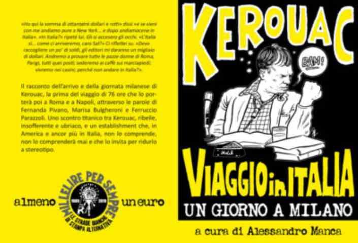 Jack Kerouac, Viaggio in Italia. Un giorno a Milano