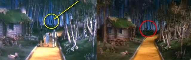 La leggenda del nano impiccato nel Mago di Oz 4