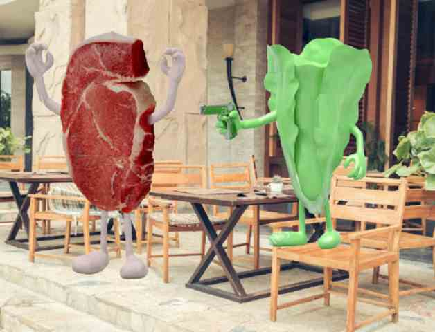 L'eterna disfida carnivori vs vegetariani • Kulturjam