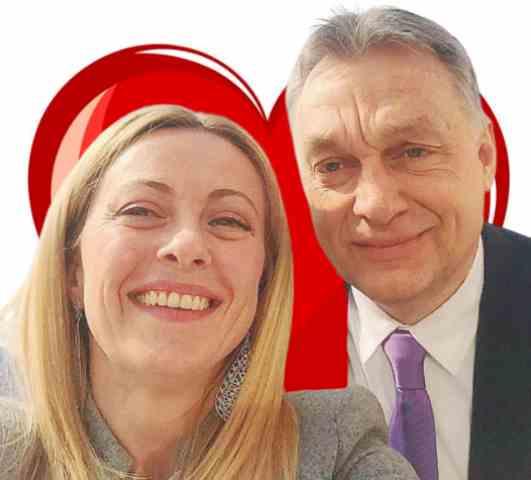 L'intenso afflato tra Orban e Giorgia Meloni