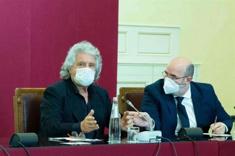 M5S e Draghi Crimi dice si, Grillo cita Platone, Di Battista sbuffa