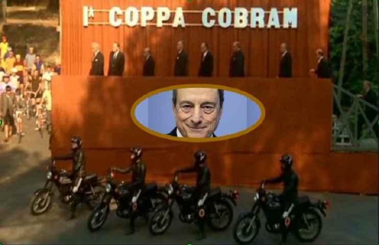 Mario Draghi tra il Recovery Plan e la Coppa Cobram