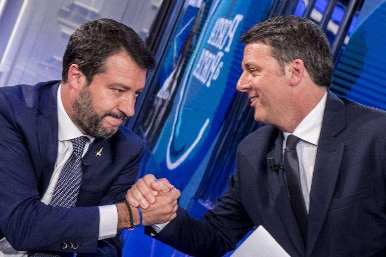 Matteo più Matteo: Salvini & Renzi, nemici amici