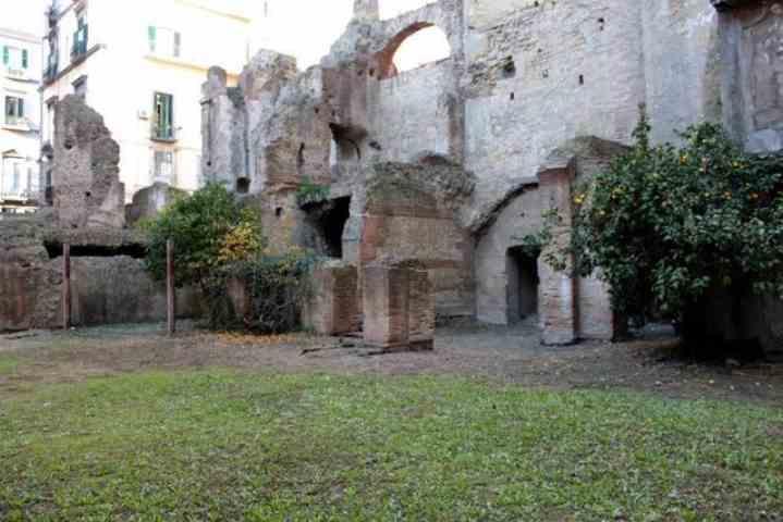 Napoli, il tesoro archeologico di Carminiello ai Mannesi