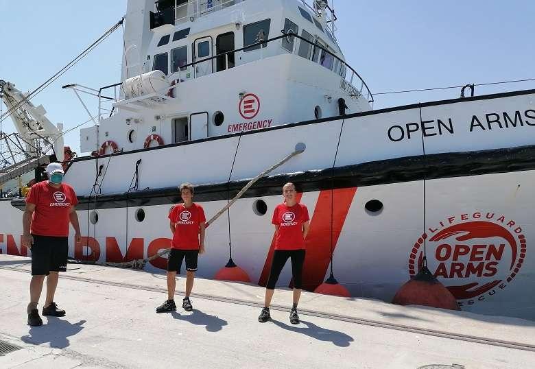 Emergency e Open Arms di nuovo insieme nel Mediterraneo