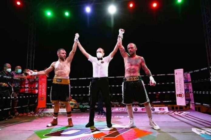Boxe, Papasidero-Di Carlantonio rimane vacante il titolo italiano pesi massimi leggeri