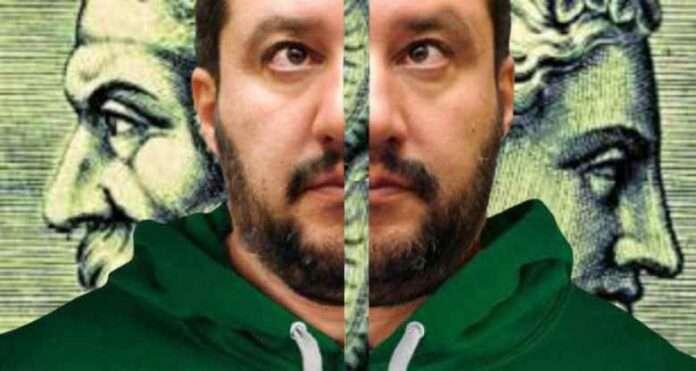 Salvini come Giano Bifronte europeista e medio-sovranista