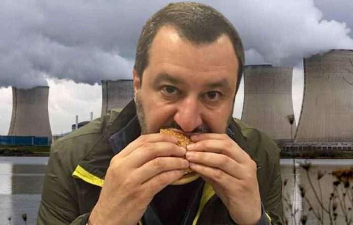 Salvini vuole le centrali nucleari, il suo ragionamento: