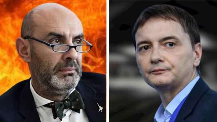 Scontro tra titani, Pillon contro Morisi: 'La giustizia divina ha fatto il suo corso'