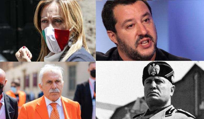 Sovranisti: dal tricolore alla bandiera dei cialtroni