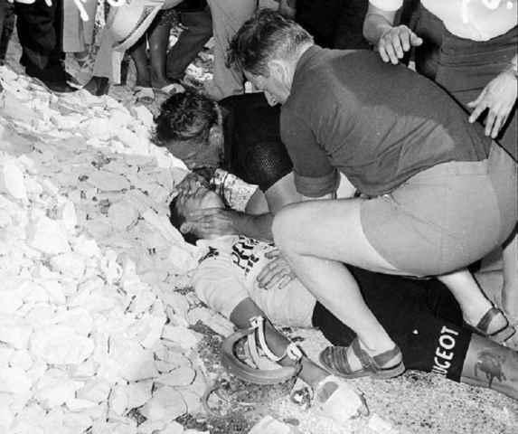 Tom Simpson, Il leone dello Yorkshire, prima vittima del doping