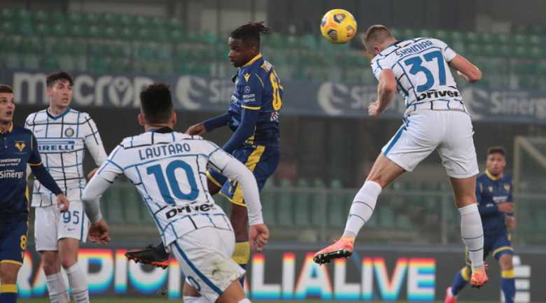 Verona-Inter 1-2, il Pagellone