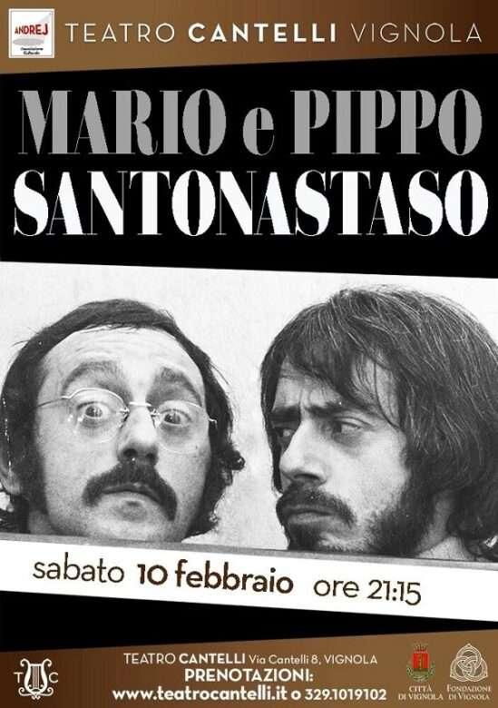 Mario e Pippo Santonastaso, uno più uno uguale duo