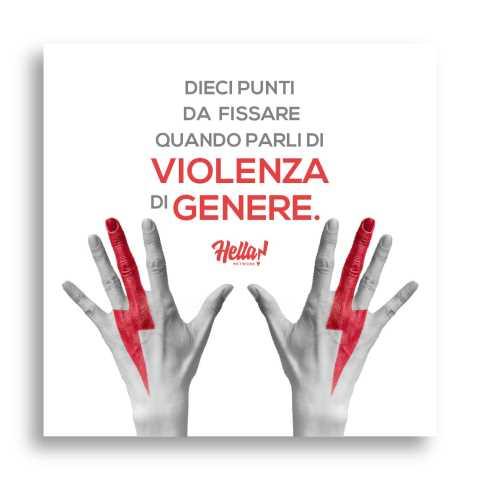 Violenza di genere: 10 punti da seguire se vuoi parlarne