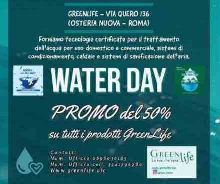 World Water Day 2021 una...GreenLife a portata di tutti