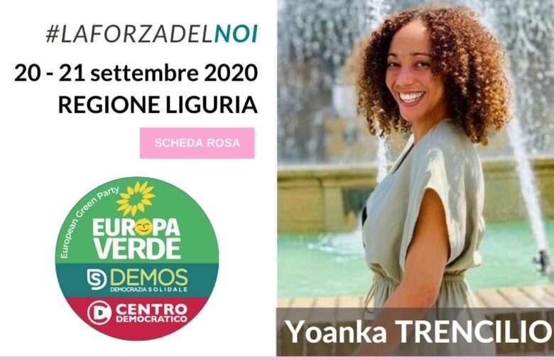 La Liguria solidale sfida Toti. Intervista alla candidata Yoanka Trencilio