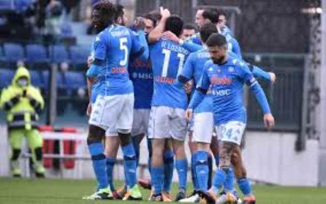 Cagliari-Napoli 1-4, la Z di Zielo! Il club azzurro si autocelebra