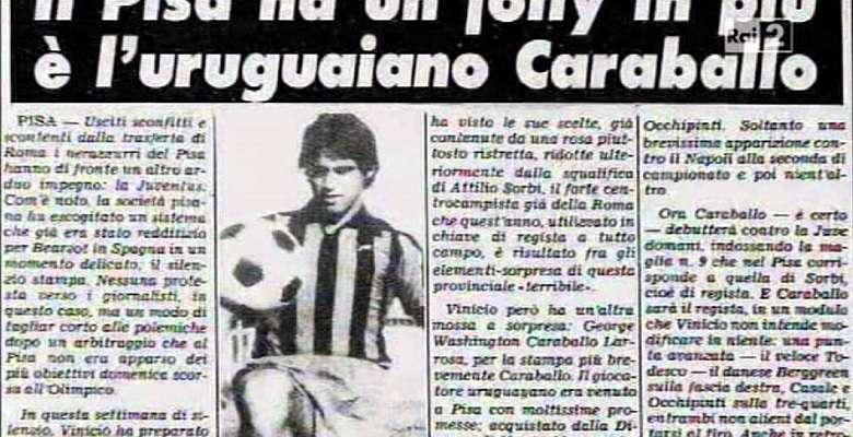 Calciatori improponibili: Jorge Washington Caraballo