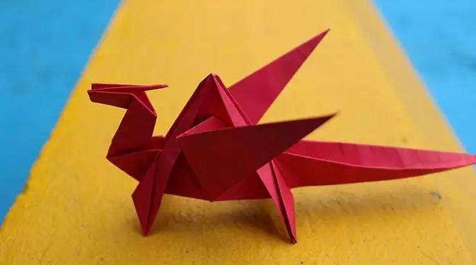 Origami, drago