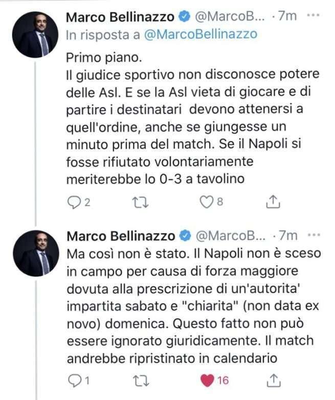 marco bellinazzo tweet