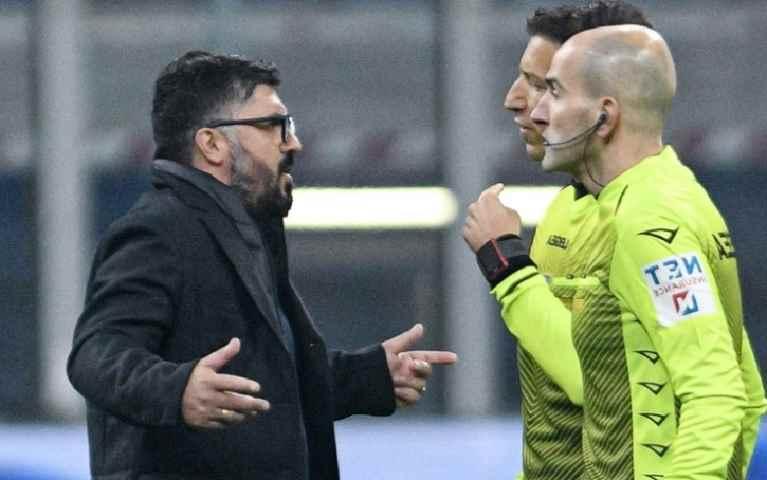 Come insultare gli arbitri e farla franca (vademecum Gattuso)