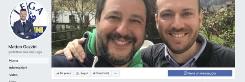 Il razzismo è libertà e civiltà per il leghista Matteo Gazzini