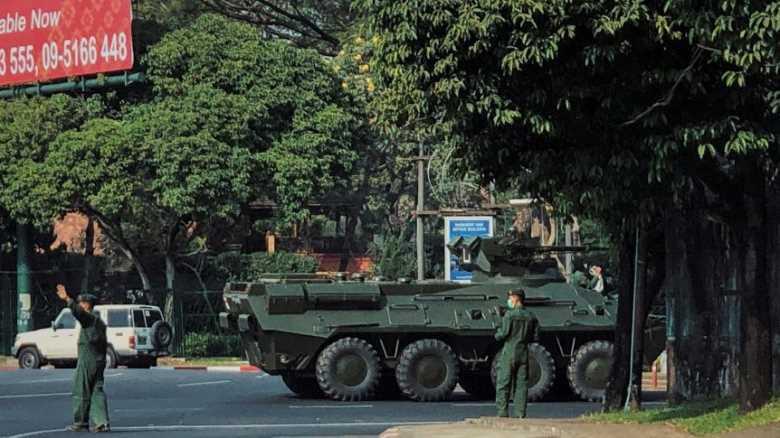 Golpe in Myanmar, Aung San Suu Kyi agli arresti
