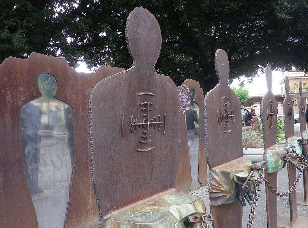 Monumento ai Caduti - Testaccio, 25 Aprile