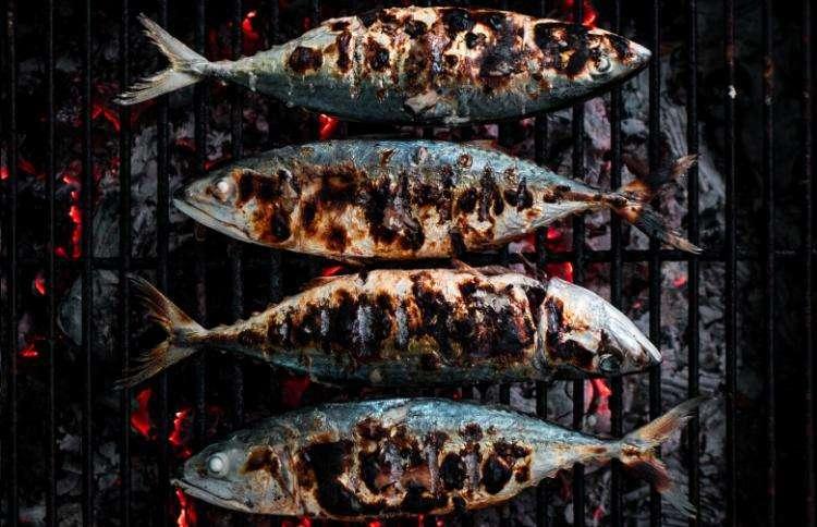 Pesci su griglia