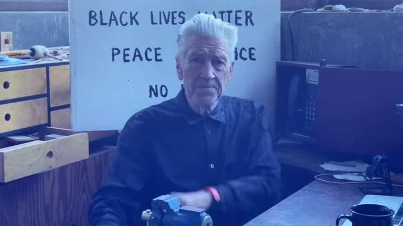 David Lynch metereologo a sostegno di black lives matter
