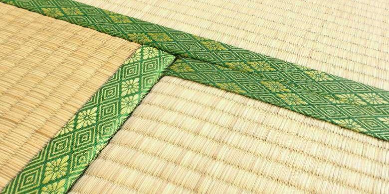 Tatami bordo verde