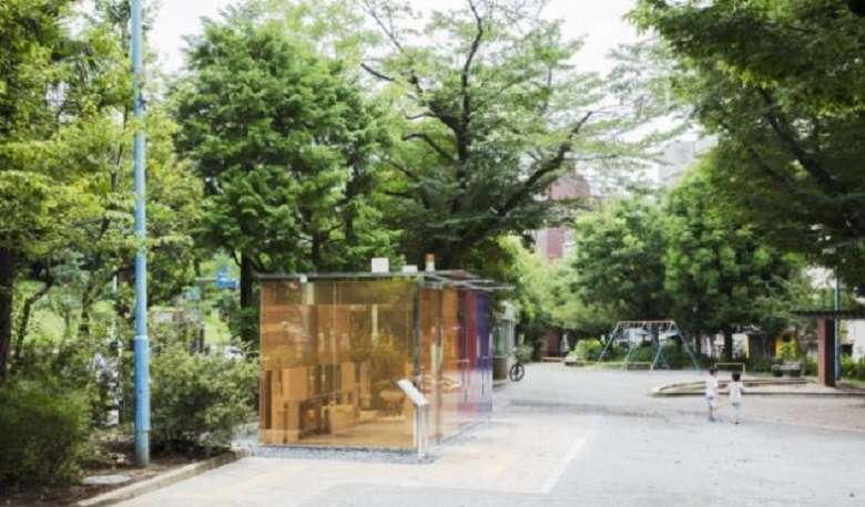 Dal Giappone con furore: i bagni pubblici trasparenti